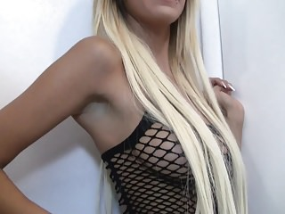 Amateur creampie hailey jewel Sexy blonde hailey in a fishnet dress