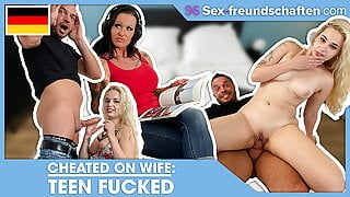 Cheated with TEEN in MARRIAGE BED! SEX-FREUNDSCHAFTEN