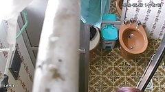 101-01. Brazil. Bathroom, girl takes shower