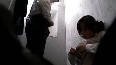 Amateur Japanese fun in change room