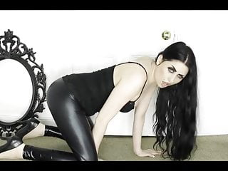 Asian goth girl videos - Goth girl farting in latex