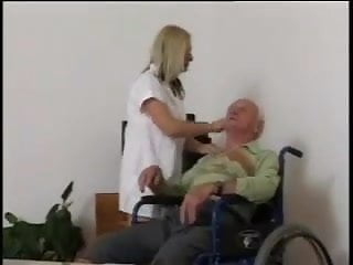 Good hardcore man on man porn Nurse takes good care of an old man by snahbrandy