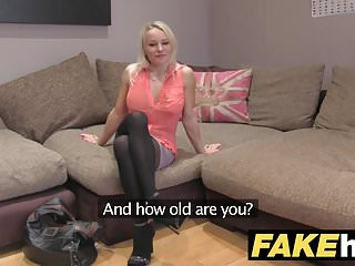 Mature sex and shaven - Fake agent uk cute horny milf with shaven pussy fucking