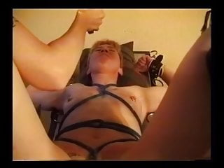 Painful male orgasm - Lesbian pleasure and pain bdsm