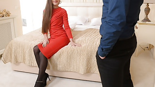 Hotel room anal date with Mary Rock