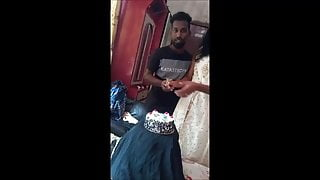 Indian couples hardcore birthday party (part:1)