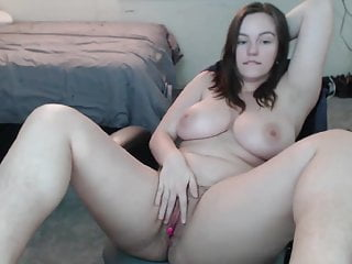 Busty emo girl Big tits, busty, emo cam girl with piercing masturbating