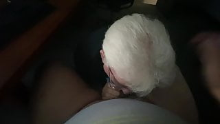 Grandpa blows me again