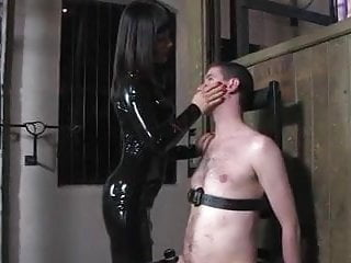 Bondage slap - Firm but sensual face slapping