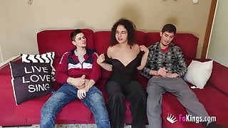 Tommy spends confinement banging a young babe