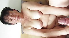 Polish granny loves young cock's sperm