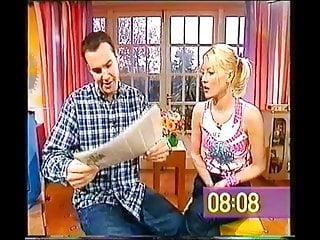 Sex toys tv live Denise v outen removes bra live tv. nn