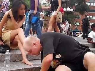 Youtube nyc stripper Nyc foot massage public