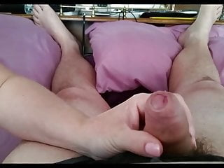 Fuck her gently - tabs Gently stroking my uncut cock then rubbing her tits on it