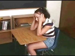 Naked lesbian teacher Lesbian teacher seduces her young pupil