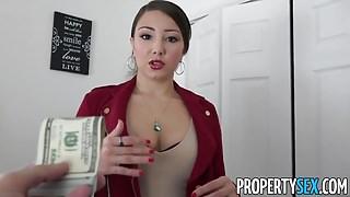 PropertySex - Latina real estate agent with big ass fucking