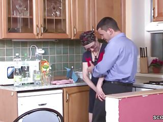 Husband lost fucked - Young boy seduce grandma to fuck and lost virgin