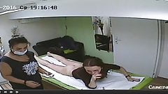 Hidden camera, new hair removal salon