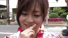 Nozomi Hazuki leaves random guy to  - More at 69avs.com