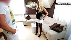 Анальный секс с немецкой милфой-блондинкой в любительском видео