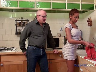 Old man fucking anal Young blacked girl fucked by an old man