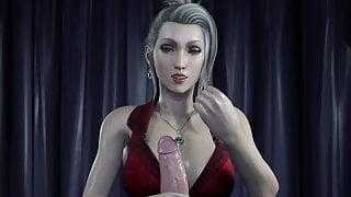 Scarlet Teasing a Big Cock