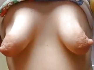 Changes in my breasts during pregnancy - Play with my breasts