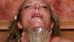 Nina Whett bukkake montage