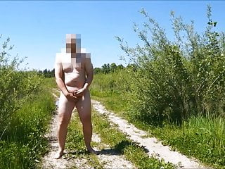 Lesbians publicly punished Wanker is jerking off publicly on the road