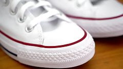 My Sister's Shoes: Converse Low White Brand New I chucklove