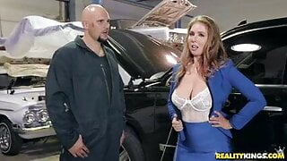 Rich Woman Fucked By Car Mechanic (Lena Paul)