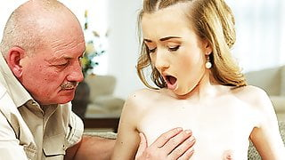 DADDY4K. Mature step dad makes closer acquaintance with young...