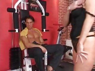 Free pics mature double penetration German gym mature double penetrated