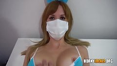Horny Nurse Gets Fucked In Middle Of Pandemic