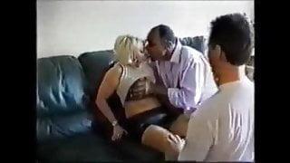 British Milf Julie Threesome Extended
