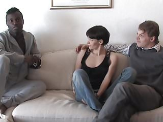 Watch free black porn sex - Pia sofies first black cock while her cuckold is watching