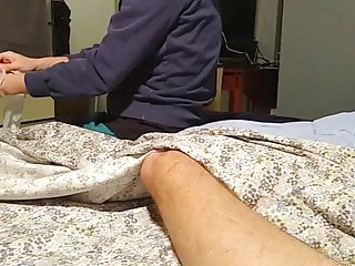 Male prostate orgasm technique Asian cock massage - happy ending prostate orgasm
