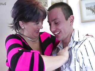Old mature shemalepics Old mature mom fucks and sucks her young boy