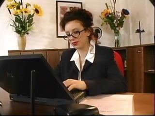 Mature busty secretary Beatrice busty secretary office sex