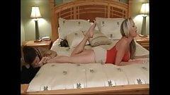 lesbian foot fetish