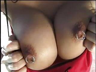 Interracial milf sex video - Busty pierced asian milf sex outside