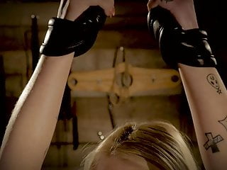 Sxx fucking dungeon Teen tied up and hardcore fucked in the bondage dungeon