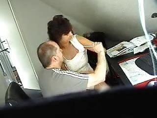 Old couple fucks - Old couple fuck on hidden cam