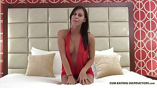 I hope you like the taste of your own cum CEI