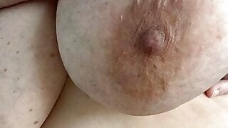 BBW with massive heavy hanging tits. Mommy wants to breastfeed
