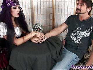 Gypsy pussy Busty gypsy gives cock reading