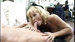 Hot Mature Michelle St. James Blowjob