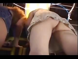 Teen arcade design - Machine arcade upskirt.flv