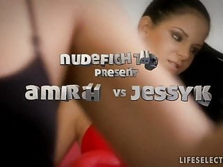 Angel swan stripper video - Nudefightclub presents amirah adara vs jessyka swan