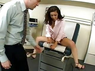 Doctor fucking in the office - Secretary fucking at the doctors office